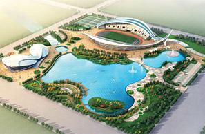 黄骅市天健湖文体公园